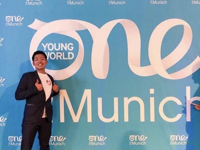 ミュンヘンで開催されたOne Young Worldにi-GIP KANTO代表が参加しました